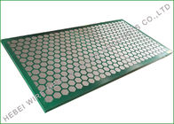 Cina Carbon Metal Frame Shale Shaker Screen, Ekstra Fine Wire Mesh Cloth 1250 X 635mm perusahaan