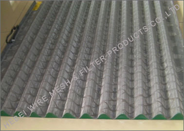Cina Minyak Hookstrip Bergetar Sieving Mesh Screen, Layered Wire Mesh Vibrating Screen pabrik