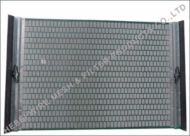 Flat Hook Panel Vibrating Sieving Mesh Screen, 20 - 325 Mesh Sand Dewatering Screen