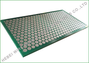 Carbon Metal Frame Shale Shaker Screen, Ekstra Fine Wire Mesh Cloth 1250 X 635mm